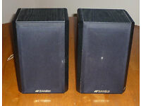 PAIR OF SANSUI SAS-50S SHELF SPEAKERS