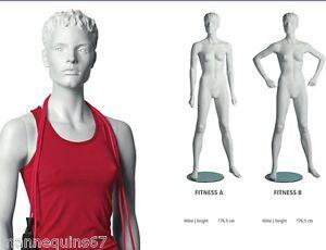 mannequin femme neuf sportif magasin vetement vitrine ebay. Black Bedroom Furniture Sets. Home Design Ideas