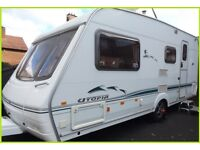 2003 Swift Challenger Utopia 4 Berth Luxury Touring Caravan Abbey Sterling Ace Group.