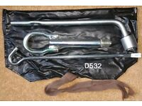 VGC Mazda MX5 MK3 Toolkit and towing eye PN: D53269650