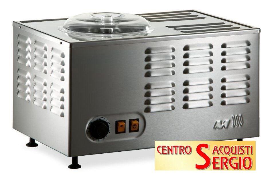 Musso GELATIERA Stella 5030 con compressore Ice Cream Machine INOX-made in ITALY