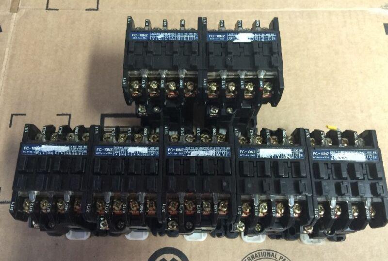 Lot Of 7 Matsushita Contactor FC-10NZ (5X) & FC-18NZ (9X) 110V COIL Shipsameday