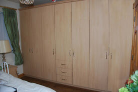 For Sale Wardrobe Doors and 2 lockers
