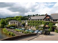 Head of Housekeeping & Waiting Staff - Beautiful location 'The Exmoor National Park'