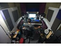 Production music studio for rent BS2