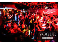Flyering and Bar staff required for busy City Centre Nightclub