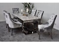 Adriana table and chairs Dining Set