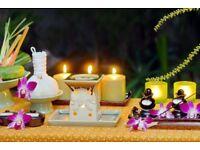 Relaxing oil massage