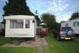 Caravan hire holiday Skipsea Sands Holiday Park, nr. Bridlington/Filey/Scarborough