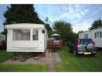 Caravan available late Bargain may day bank holiday Skipsea Sands Holiday Park, nr. Bridlington