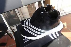 Adidas X white mountaineering NMD_R2 US 7.5 Black Docklands Melbourne City Preview