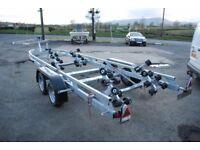 New boat trailers for RIB, Yacht, Power boat, Fishing Boat & jetski