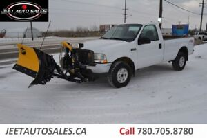 2004 Ford F-250 XL 4X4 BRAND NEW SNOW PLOW 8FT BOX 5.4L GAS