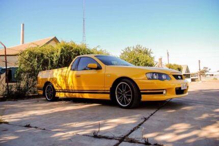2005 BA MK11 XR6 ute.
