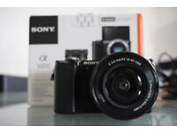 Sony a5000 body and lens