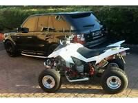 Apache 450 rlx sport access road legal quad bike 450cc