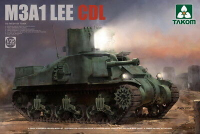 Takom Models 1/35 M3A1 Lee CDL (Canal Defence Light) Tank for sale  Shipping to Canada