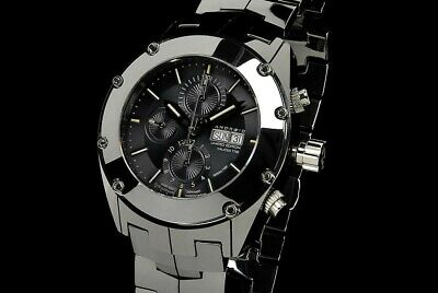 Android Virtuoso Tungsten T100 TriTube Ltd Ed Swiss Valjoux 7750 Automatic Watch