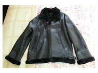 "Irvin Leather Aviator Flying Jacket US Style B3 Large 40-42"" MINT Sheepskin Westfield Lotus Trike"