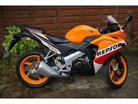 Honda CBR 125r in brillant condition only 700 miles