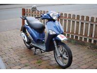 Piaggio Liberty Moped - Blue - 49cc