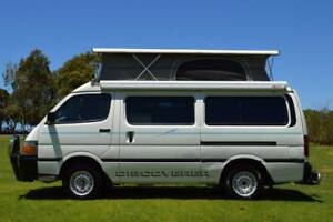 Toyota Discoverer Automatic Campervan with Rear Shower &  Low Km