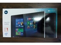 LINX 1010 LEATHER WINDOWS 10 TABLET - 32GB - WIFI - NEW SEALED -