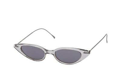 Illesteva Women's Marianne Slim Cat Eye Sunglasses 48mm $190 C10 grey transparen