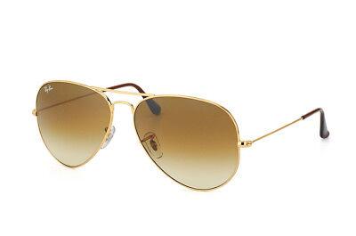 Aviator Sonnenbrille (Ray Ban RB 3025 Aviator 001/51 Größe 58 Sonnenbrille Pilotenbrille NEU&OVP)