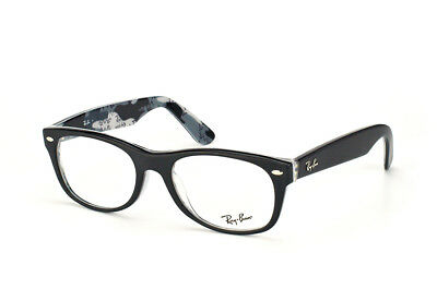 Ray-Ban Wayfarer RX 5184 5405 Black Eyeglasses Authentic New 50mm Rxable Frames