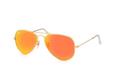 Ray Ban Aviator RB 3025 112/69 gold matt Unisex Sonnenbrille Markenbrille Brille