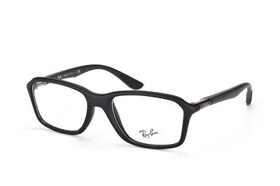$380 Ray-Ban MENS BLACK EYEGLASSES FRAMES GLASSES OPTICAL LENSES BIFOCALS ITALY