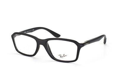 $305 Ray-Ban MENS BLACK EYEGLASSES FRAMES GLASSES OPTICAL LENSES BIFOCALS ITALY