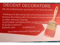 We undertake domestic painting and decorating jobs at reasonable price