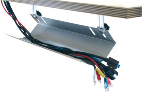 kabelwanne kabelkanal abklappbar 760 mm kabelmanagement f r schreibtische ebay. Black Bedroom Furniture Sets. Home Design Ideas