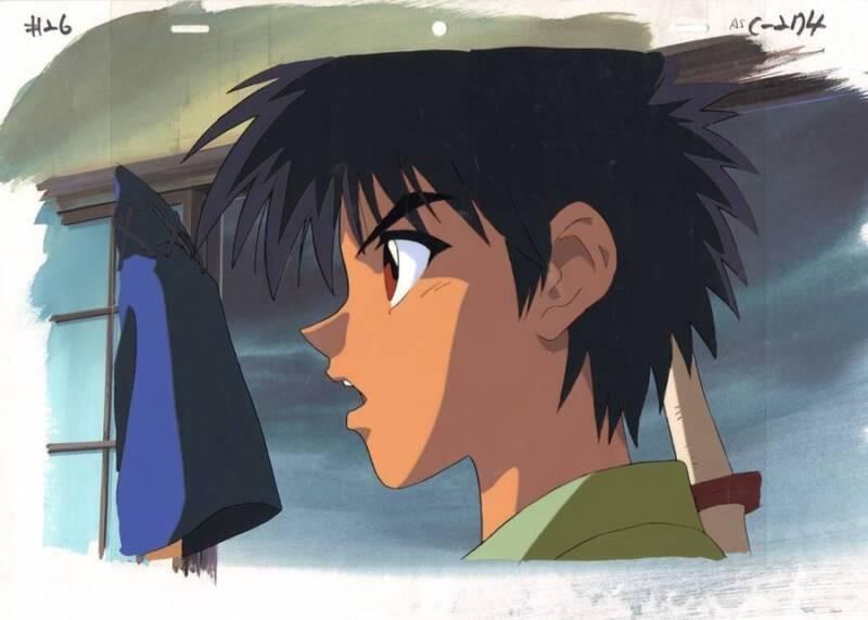 Anime Cel Rurouni Kenshin #17