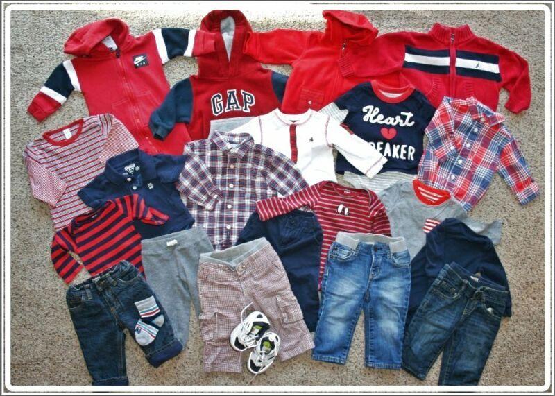 Baby Boy Lot Size 6-12 Months Nike Gap Osh Kosh Nautica Stride Rite Shoes