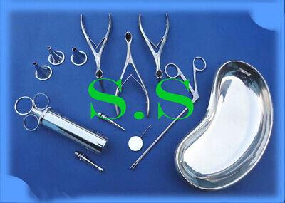 Ent Surgical Instruments Set Of 21 Pcs Ds-963