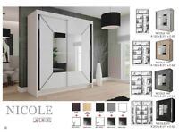 👌FACTORY OUTLET SALE ON😍😍New Stylish Design 2-Door Wardrobe Available in Diff-Colors & Size😍😍