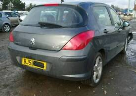 Peugeot 308 1.6 PETROL automatic 2007-2013 available for spare parts