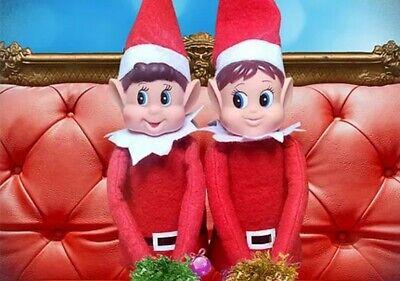 Christmas Elf on the shelf Naughty Elf Behaving Badly Elf Boy / Elves Girl