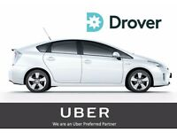 UBER READY PCO CAR HIRE/RENTAL - DRIVE A TOYOTA PRIUS TODAY
