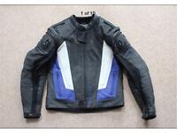Frank Thomas motorcycle leather jacket size 40