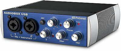 Presonus Audiobox Usb 2X2 Audio Interface   Includes Studio One  Dented Box