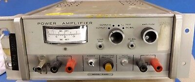 Working Vintage Optimation Pa50 Power Amplifier Amp For Electronics Testing