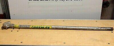 Greenlee 34 X 45 Conduit Pipe Bender Steel Manual Tube Tools Used