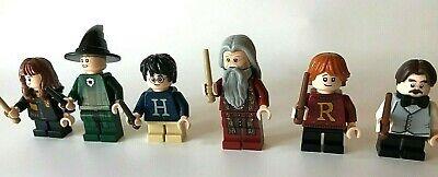 LEGO ® Harry Potter : 6 Figuren jeweils mit Zauberstab / Harry / Hermine / Ron