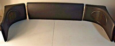 93-97 HONDA DEL SOL Speaker Cover Trim Interior Bezel Grill Rear 94 95 96