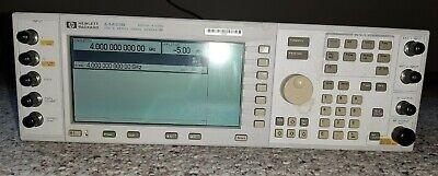 Agilent Keysight Hp E4433b Rf Generator W Opt 101 Un5 Un8 Und