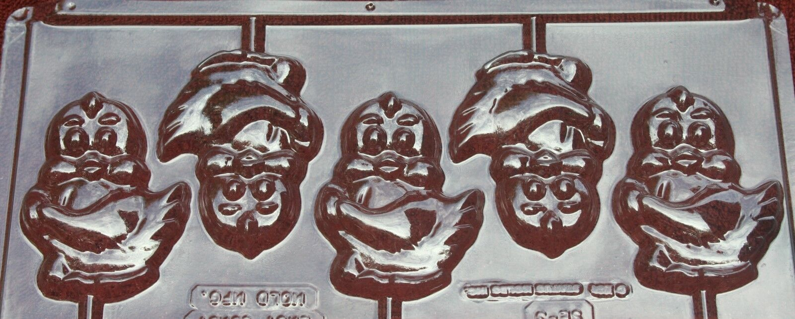 CHICKS LOLLIPOP CHOCOLATE CANDY MOLD MOLDS DIY EASTER PARTY